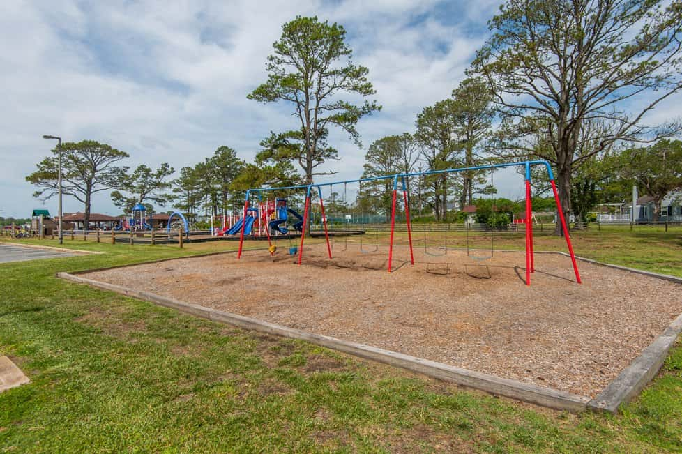 Memorial Park Playground in Chincoteague (Photo by Long & Foster)