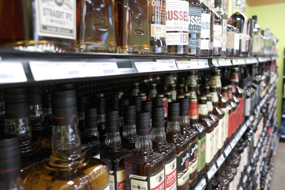 Staying on top of the bourbon trends, we carry as many as are currently available in the area!