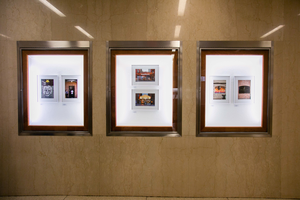 3 of my image sets on display at the Interchurch Center