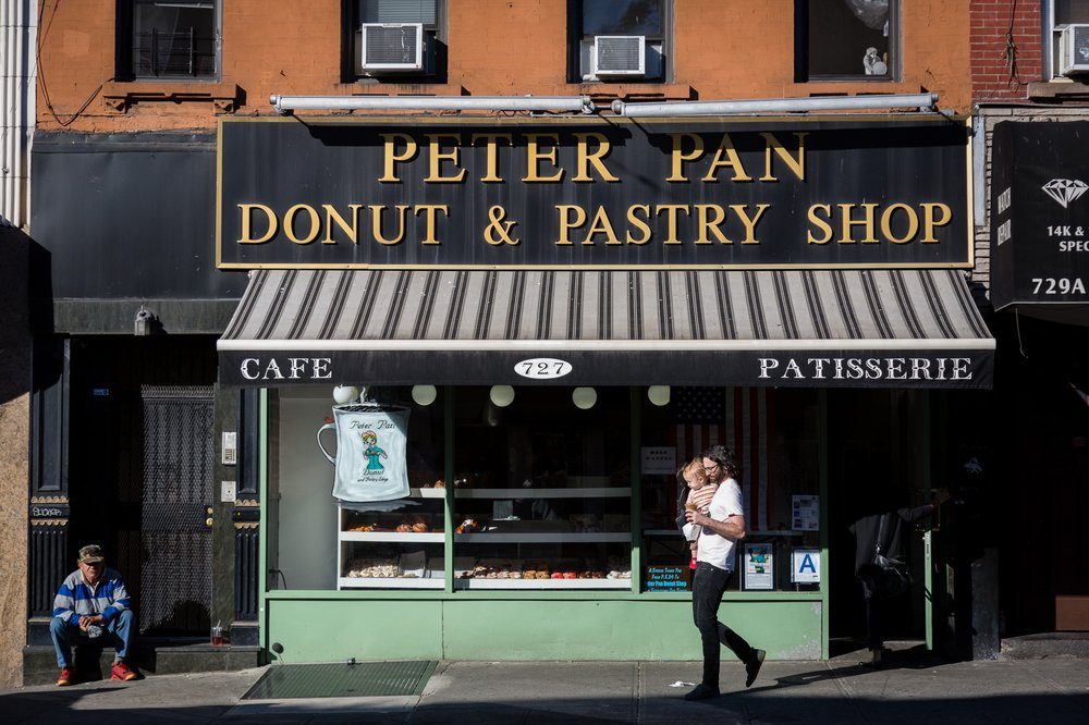 Peter Pan Donut and Pastry Shop, Greenpoint, Brooklyn 2015