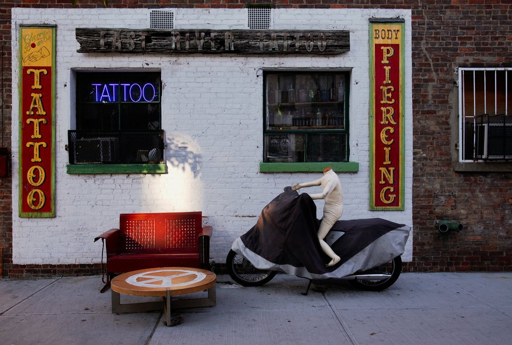 East River Tattoo, Greenpoint, Brooklyn 2007