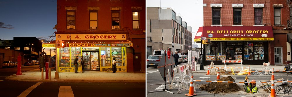 PA Grocery, Greenpoint, Brooklyn 2007, 2016