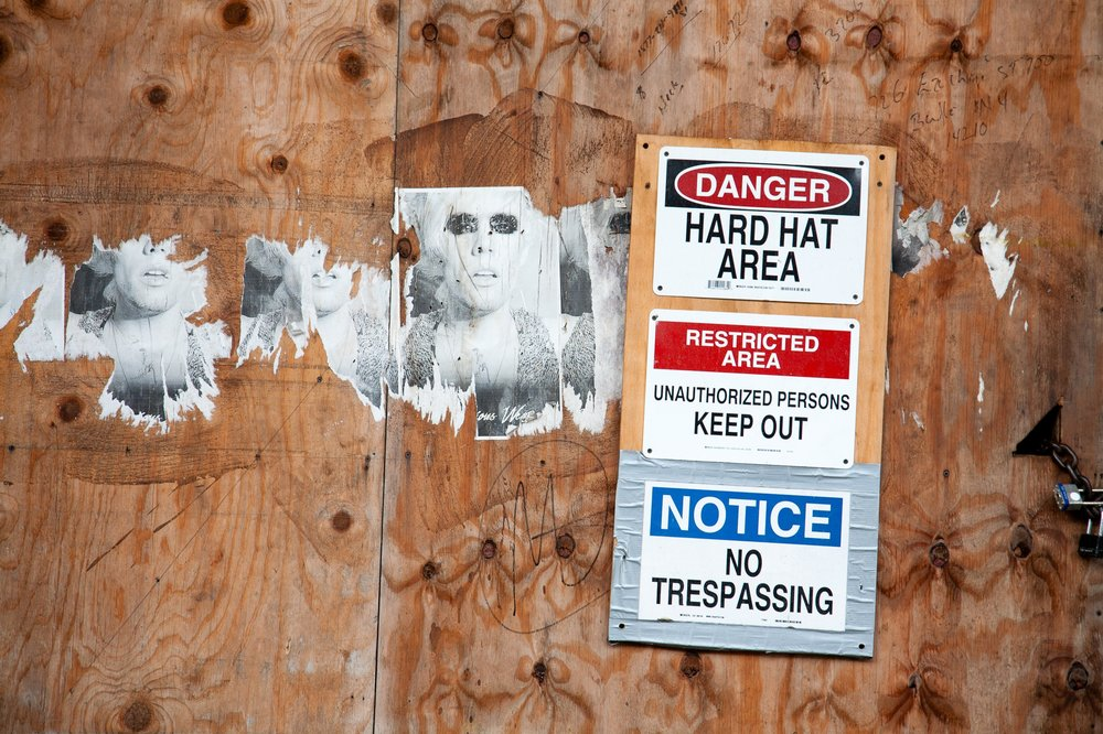 Construction Wall, Williamsburg 2008