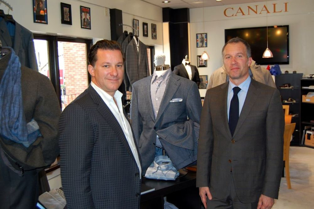 2012 Canali Trunk Show