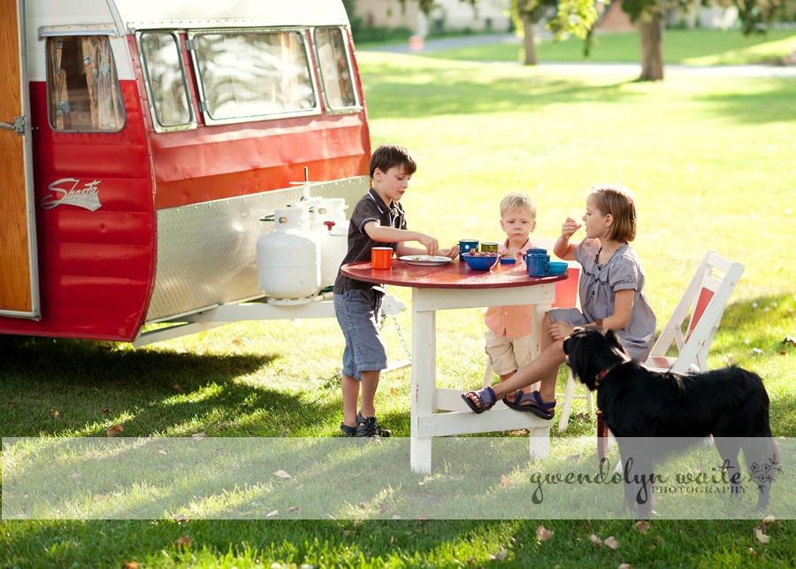 shasta camper vintage