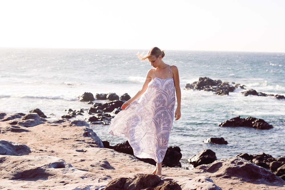 dreamy maxi dress // by Indah