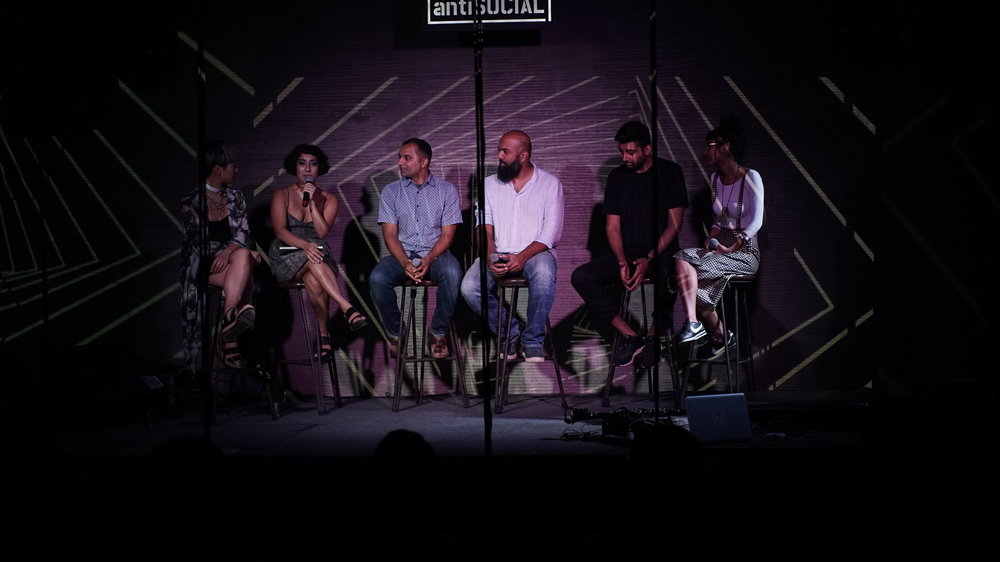 The Future of New Media panel at Khar Social.