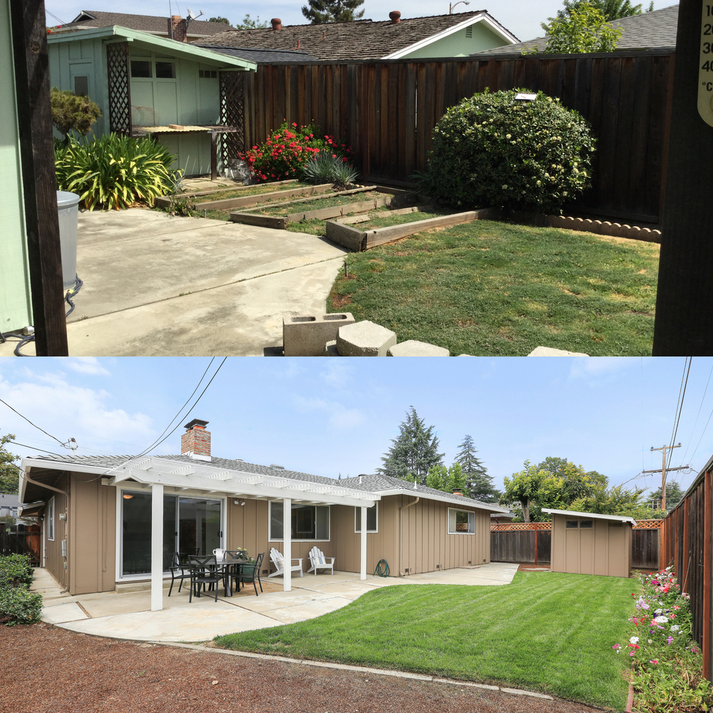 Sunnyvale staged home