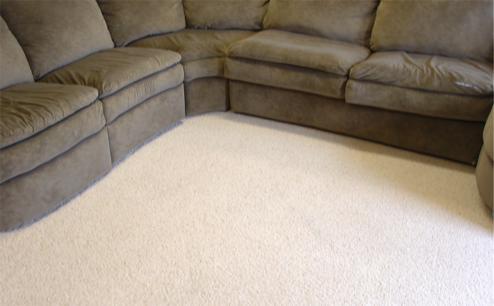 Super-clean carpets make buyers super happy.