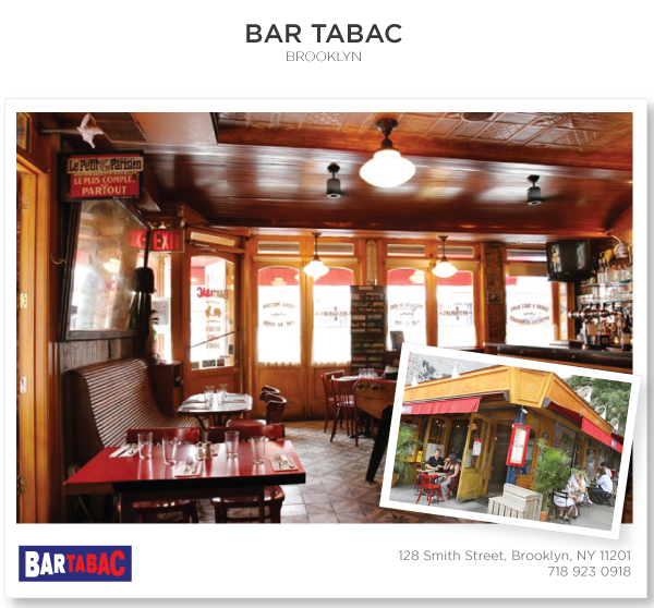 Bar Tabac Is An Irresistible Bistro In Brooklyn The Wagon Room With Its Atrium Skylight Intimate Space For Private Parties Dining 25