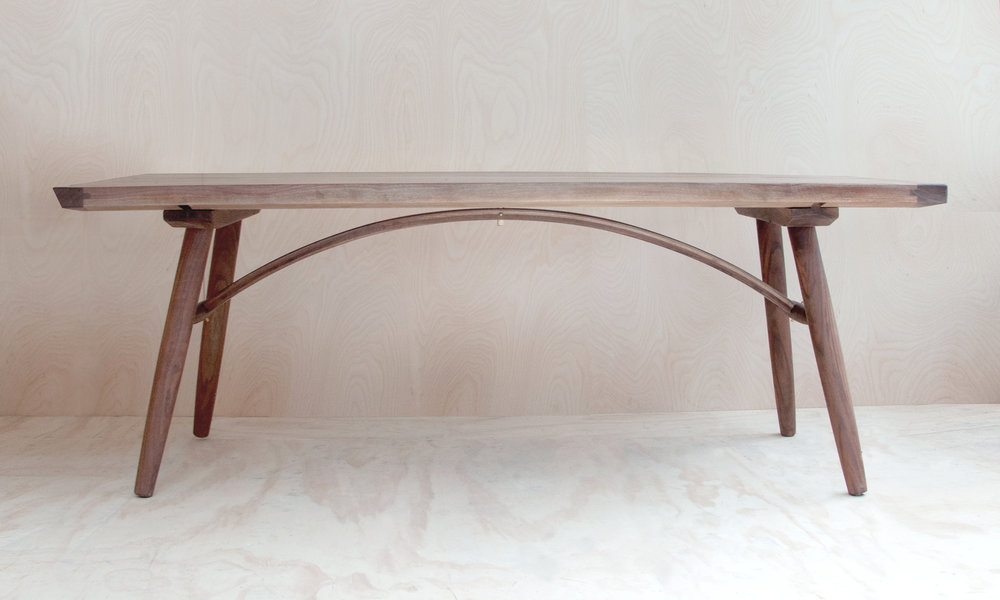 Hudson Workshop Arched Dining Table