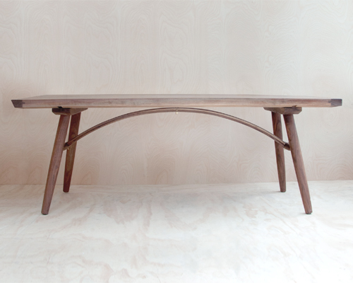 The Hudson Arched Dining Table