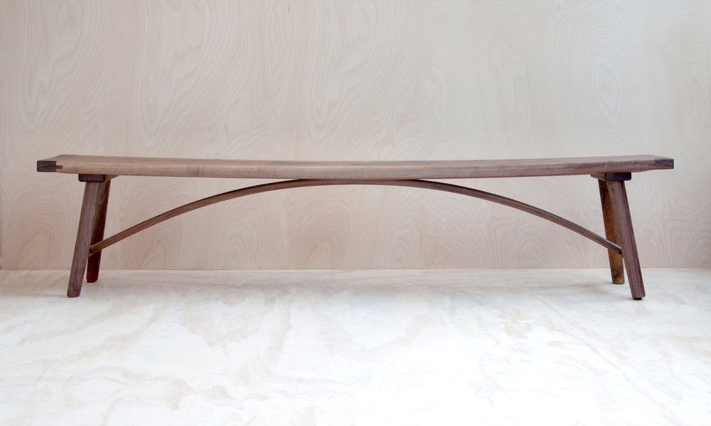 Hudson Workshop Arched Dining Bench