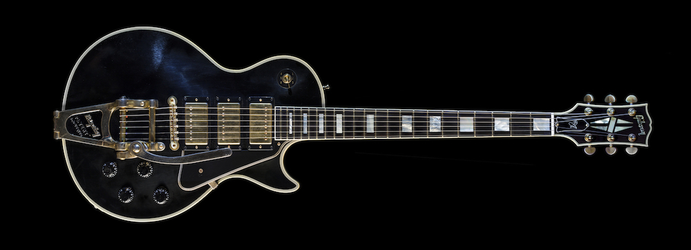 "2008 Gibson Les Paul Jimmy Page Custom No. 2 ""Ebony"""
