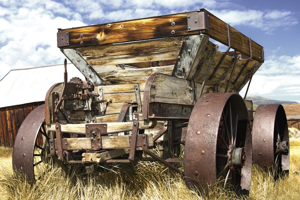 Gold Ore Wagon