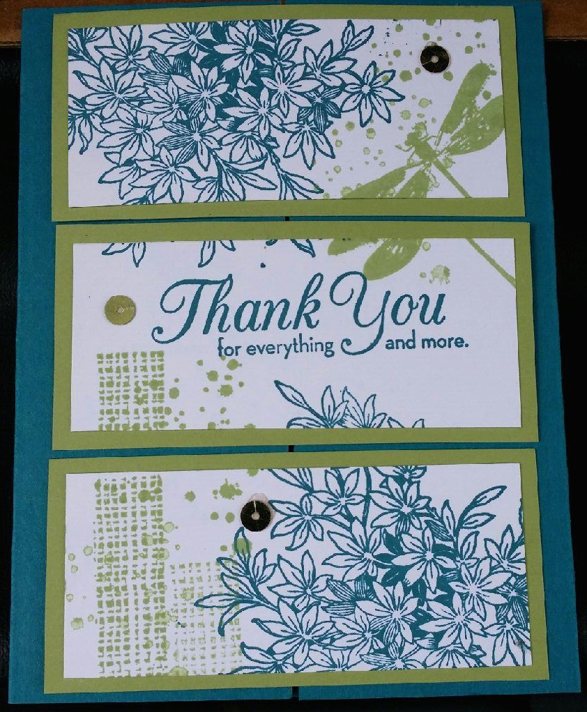 I'm not very good at collage stamping, but this stamp set Awesomely Artistic is so much fun to play with.
