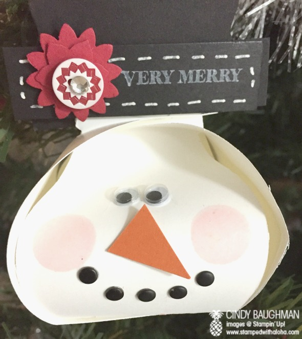 Ornament Keepsake Box Snowman Ornament