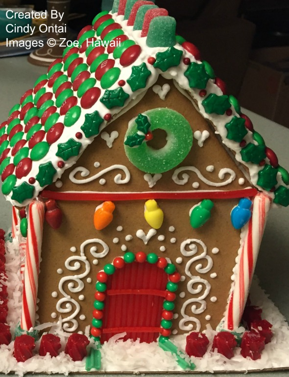 Gingerbread House by Zoe, Hawaii