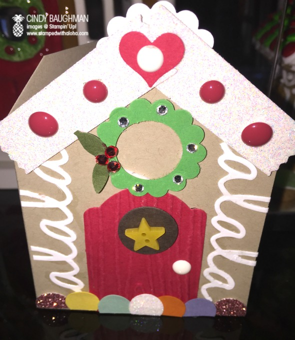 Gingerbread House Note Card