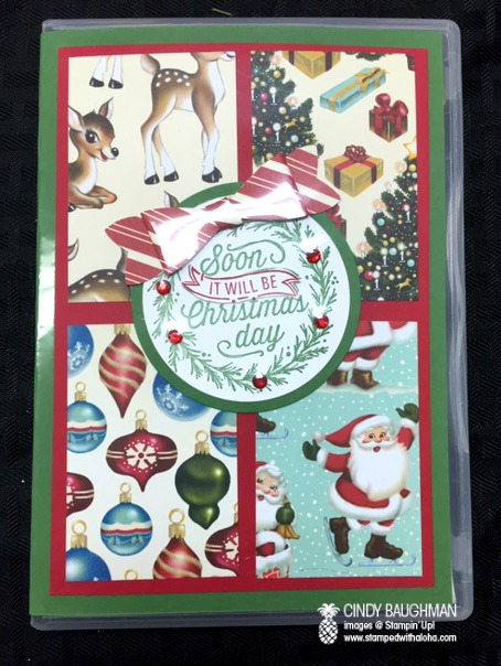 Home for Christmas Note Pad Holder