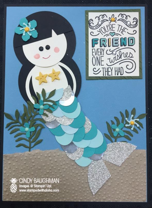 Punch Art Mermaid Box