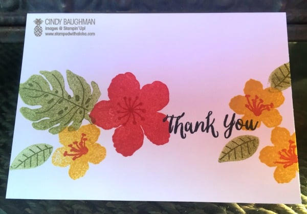 Botanical Blooms No Layer Card