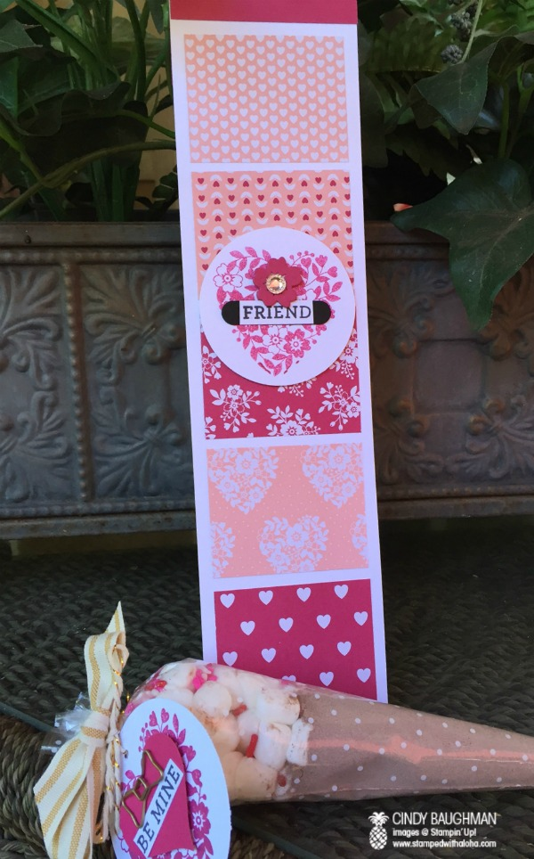 Bloomin' Bunco favor and Aloha prize