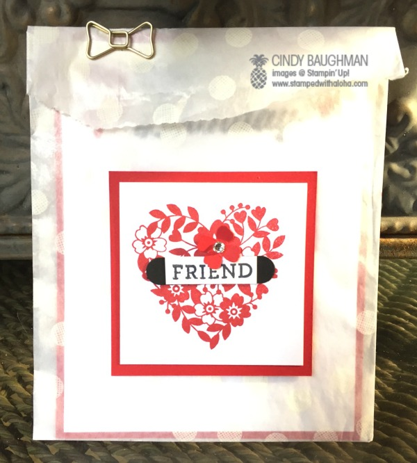 Love Blossoms Friendship Card