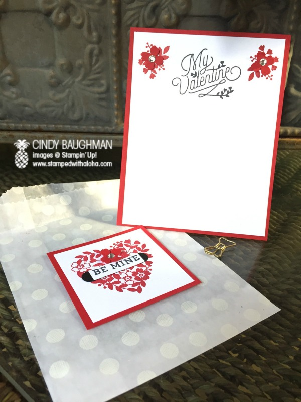 Love Blossoms Valentine Card