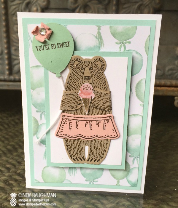 You're So Sweet Bear Hugs Card