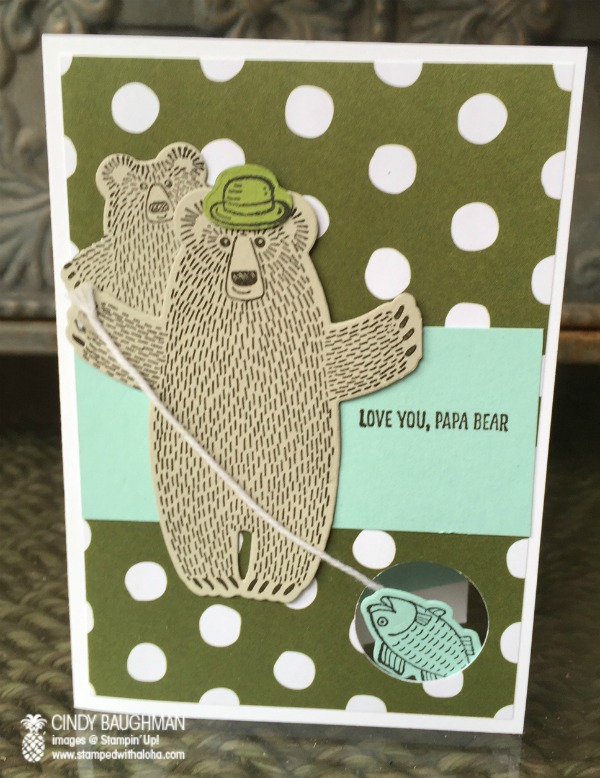 Bear Hugs Papa Bear Card