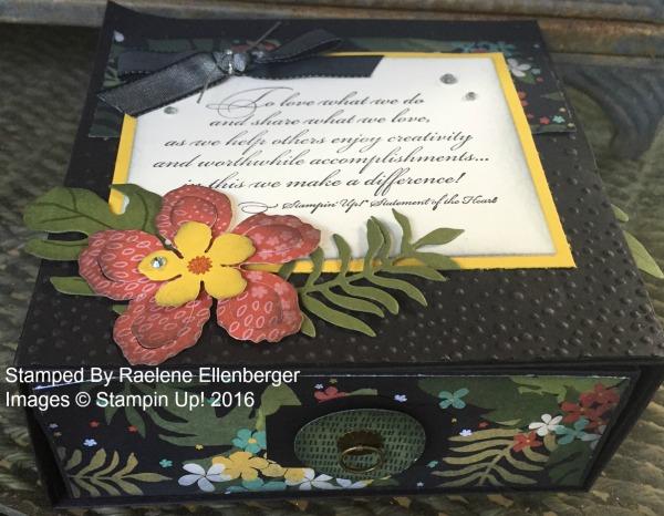 Botanicals Gift Box - www.stampedwithaloha.com
