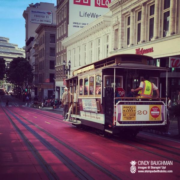San Francisco Trolley - www.stampedwithaloha.com
