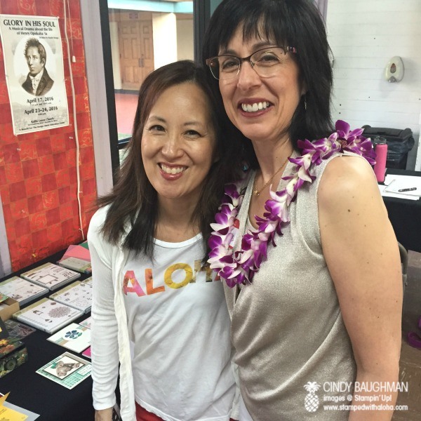 Pam and Brenda - www.stampedwithaloha.com