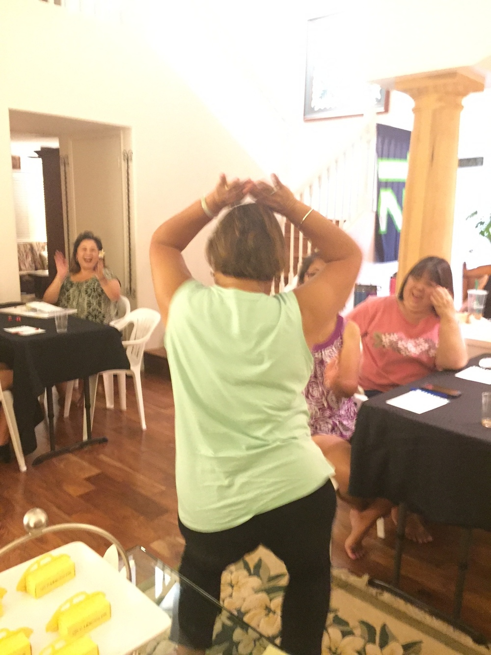 Bunco is entertaining! - www.stampedwitaloha.com