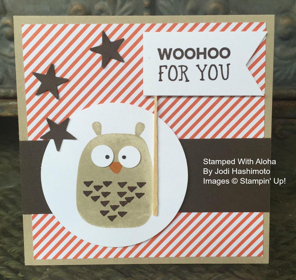 Playful Pals Owl
