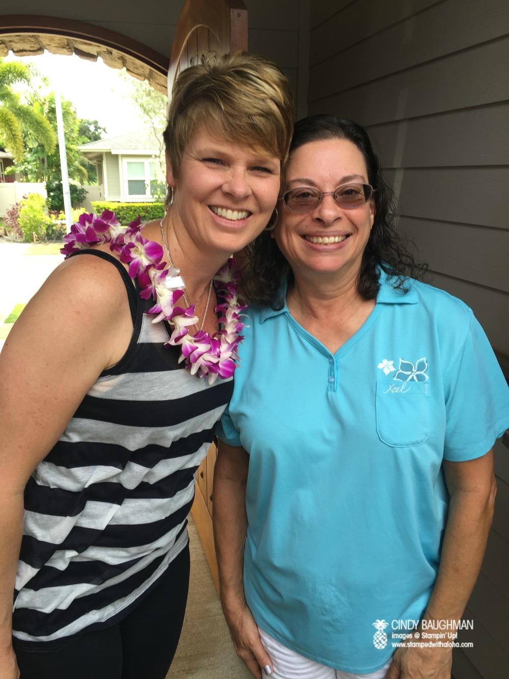 Lynn and her neighbor Derelyn