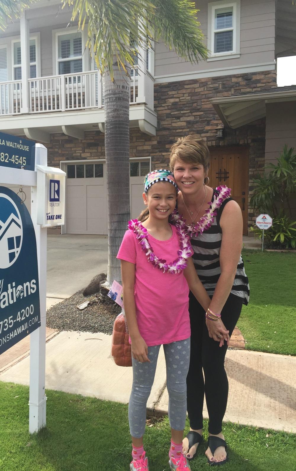 Saying Aloha - www.stampedwithaloha.com