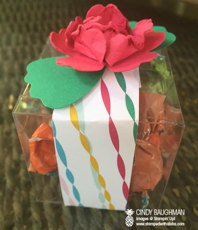 Festive Favor - www.stampedwithaloha.com