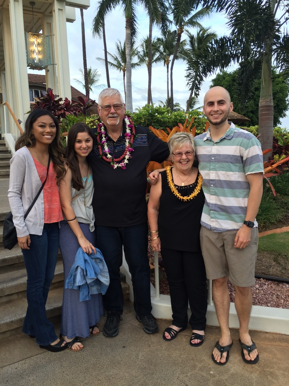 Belated Father's Day at Roy's - www.stampedwithaloha.com