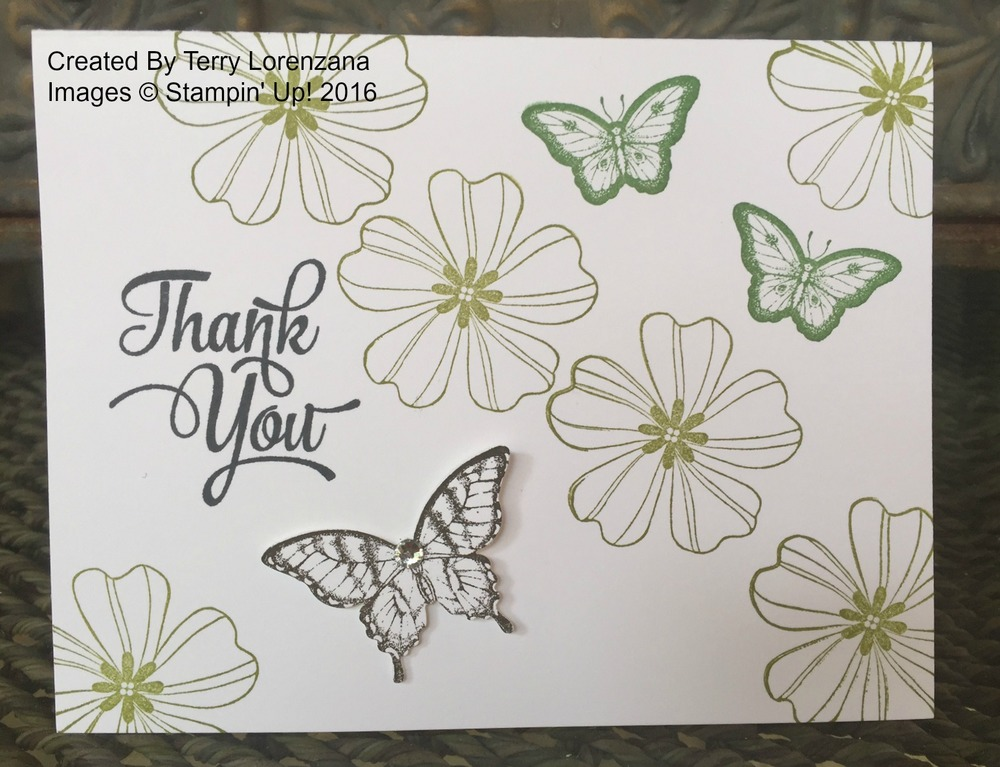Terry's Thank You card - www.stampedwithaloha.com
