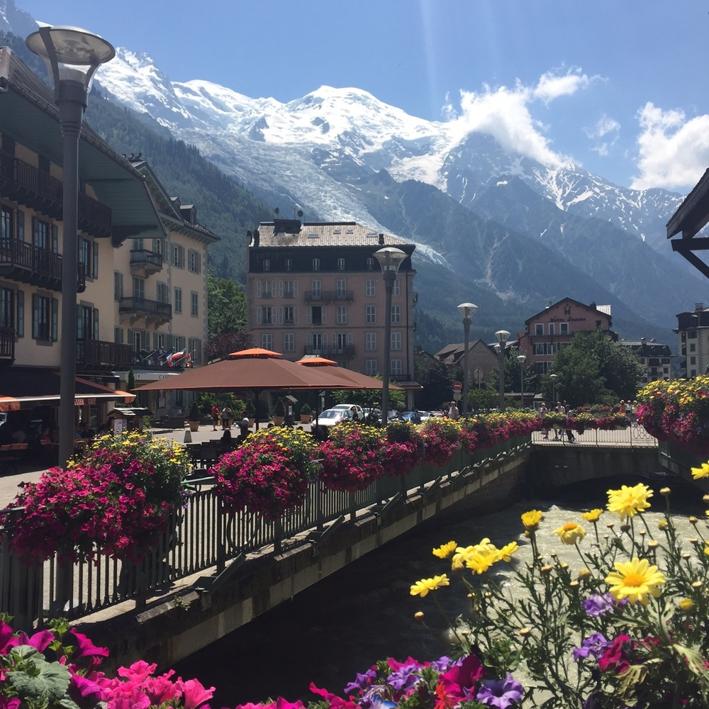 Beautiful Chamonix, France - www.stampedwithaloha.com