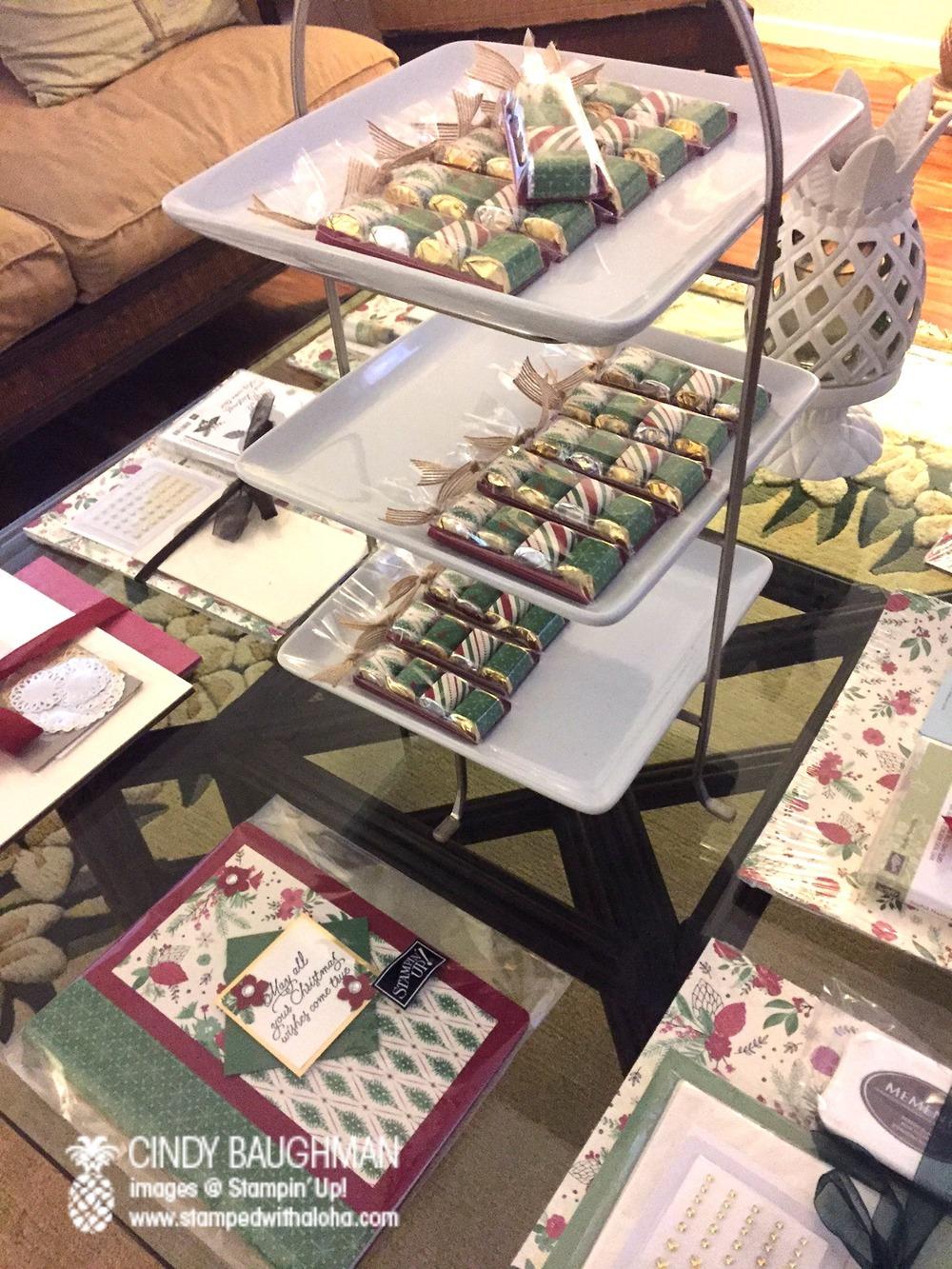 Christmas Peace Bunco - www.stampedwithaloha.com