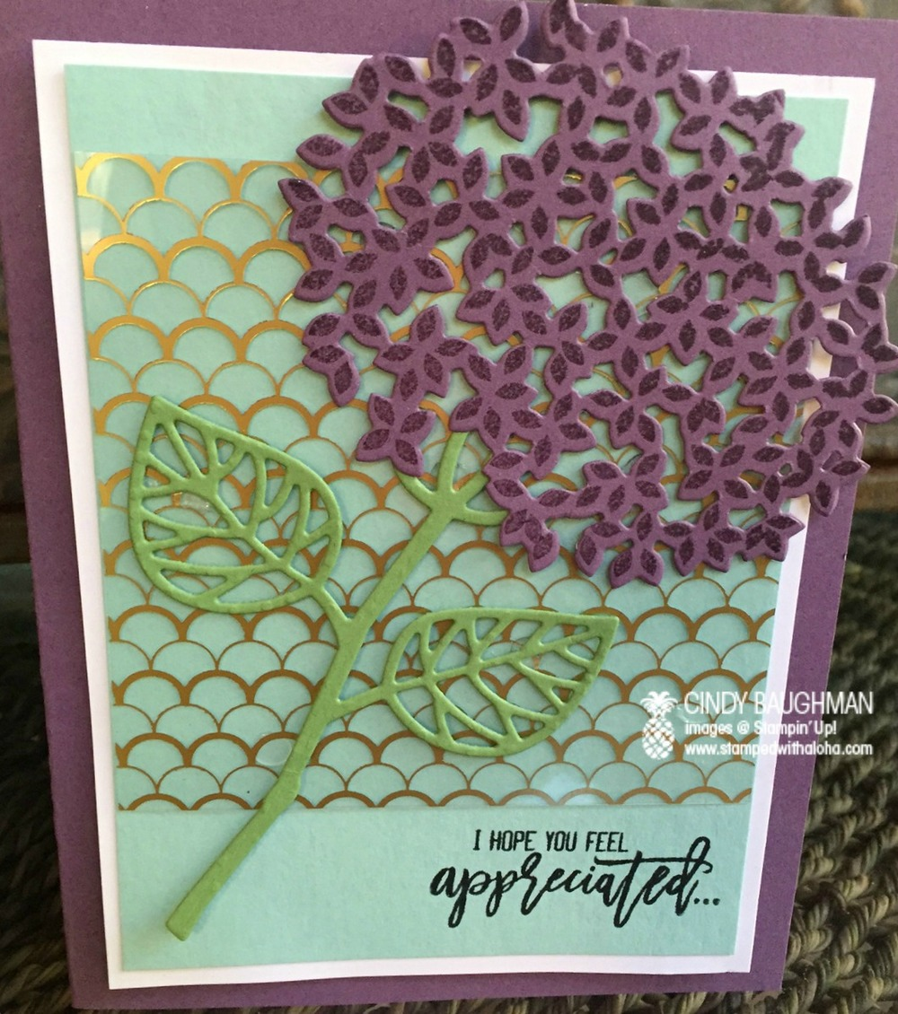 Thoughtful Branches Card - www.stampedwithaloha.com