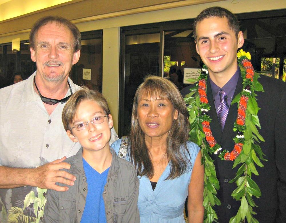 Kalani's Baccalaureate at Christian Academy - www.stampedwithaloha.com