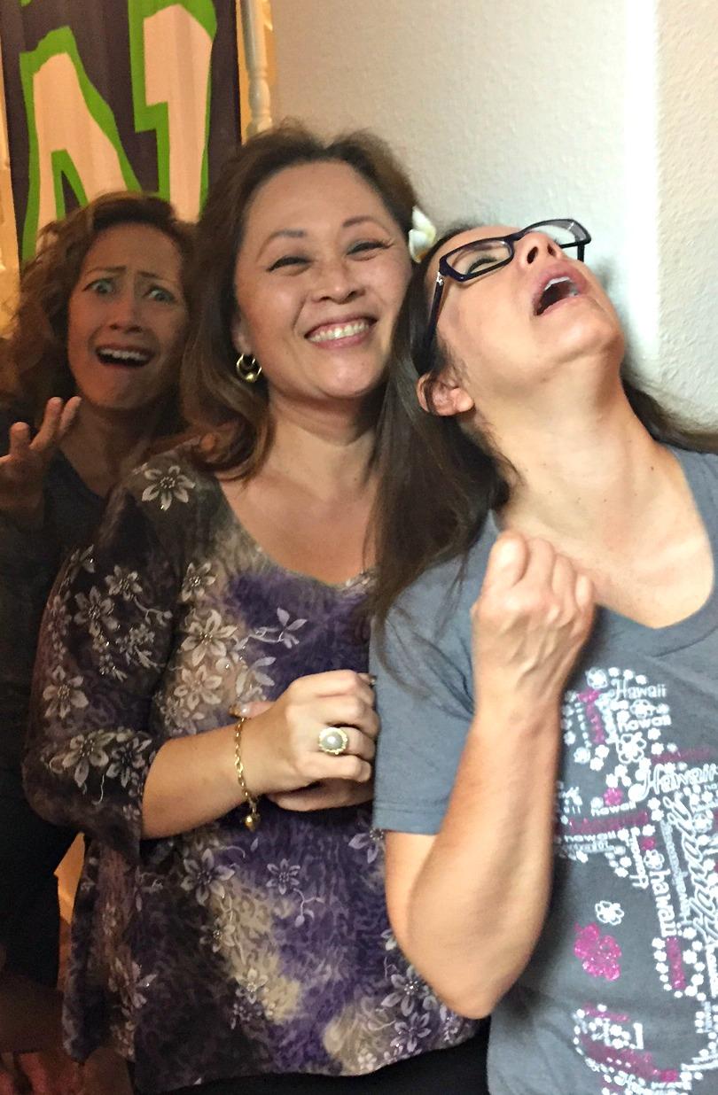 The Kolohe Sisters - www.stampedwithaloha.com