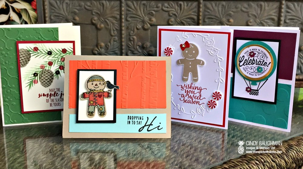 Holiday Stamp A Stack - www.stampedwithaloha.com