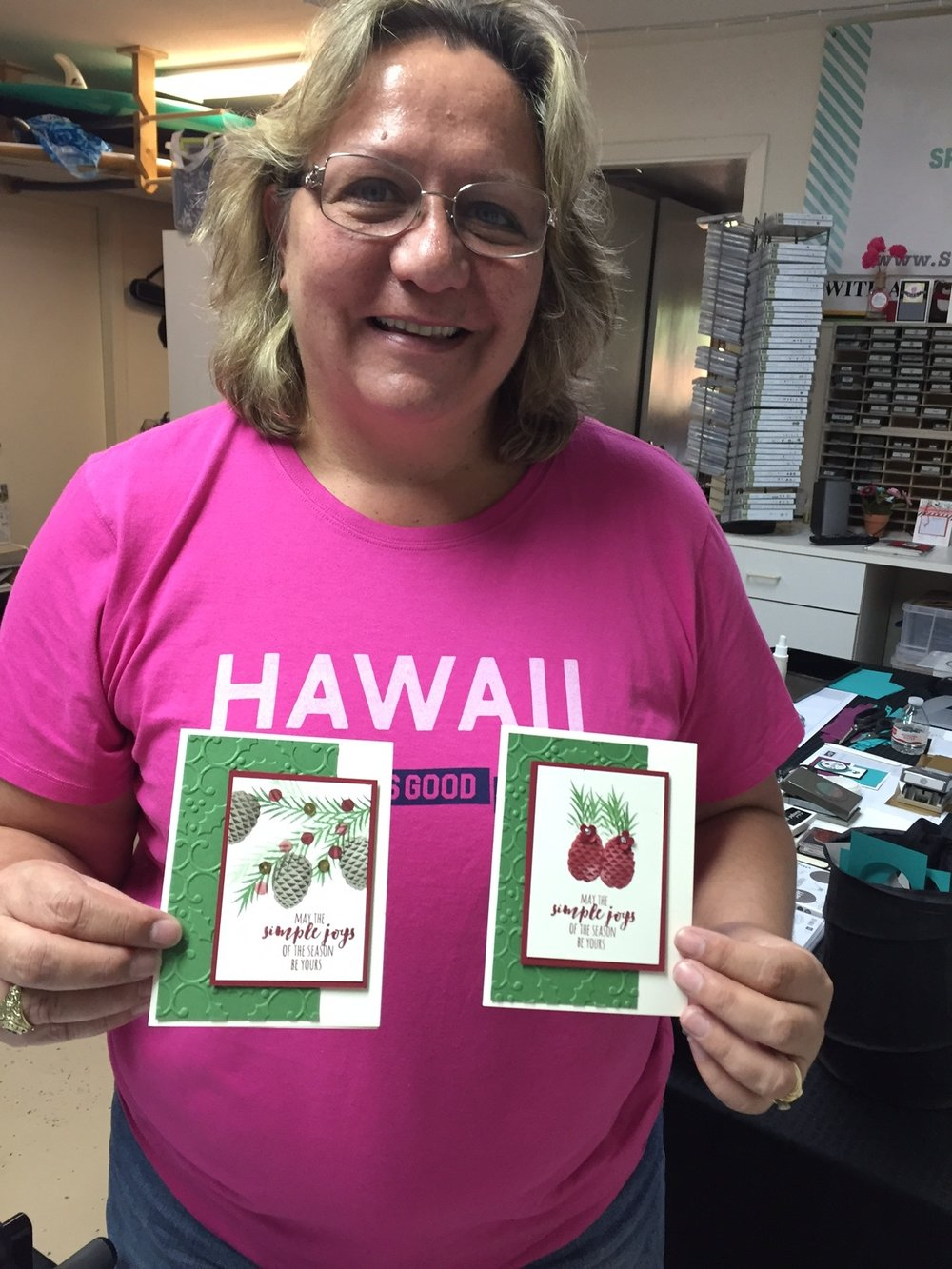 Shelly at Stamp A Stack - www.stampedwithaloha.com