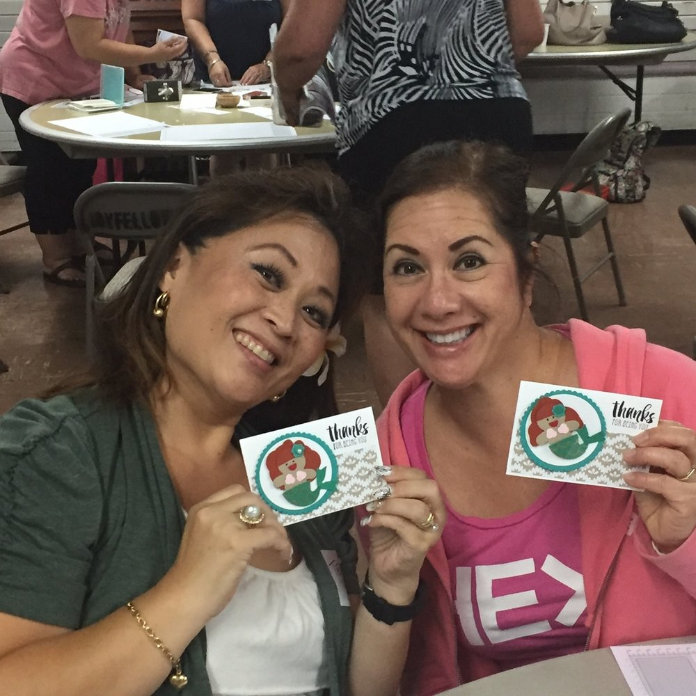 Stampin Sisters - www.stampedwithaloha.com