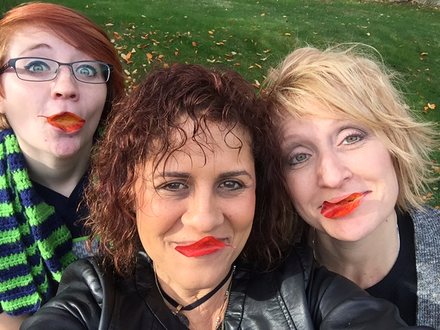 Leaf Lipstick - www.stampedwithaloha.com